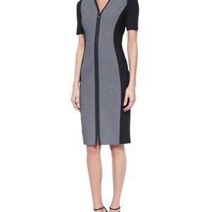 Elie Tahari front zip up dress, size 2
